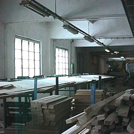 Linia Do Optymalizacji I Wycinania Wad W Drewnie SMB OSTERLE
