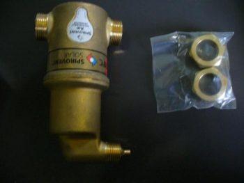 Separator Mikropęcherzy Powietrza SPIROVENT
