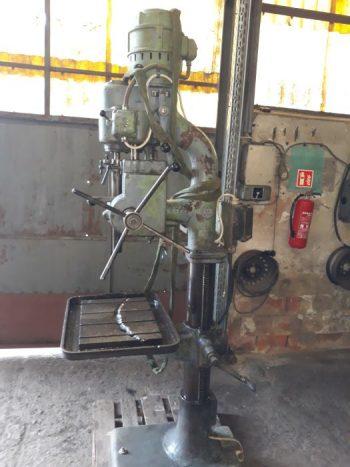 Wiertarka Do Obróbki Metalu Słupowo – Kolumnowa Firmy Auerbach
