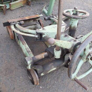 Wózki Podawcze Do Traka Wraz Z Wózkami Pomocniczymi Firmy Hoffmann