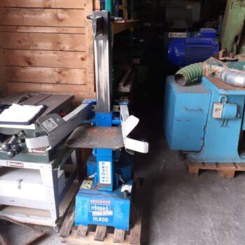 Łuparka, Rozłupywarka Hydrauliczna Do Drewna Firmy Scheppach HL 800
