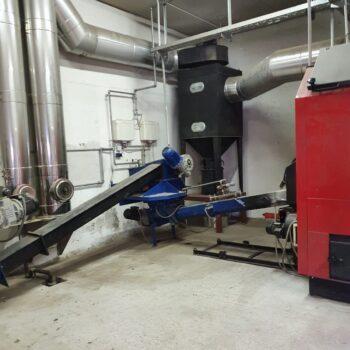 System Podajnika Do Biomasy